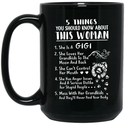 This woman gigi  Mug - gifts for grandma