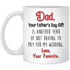 Another Year Of Not Having To Pay For My Wedding Mug - Gift For Dad