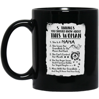 This woman nana  Mug - gifts for grandma
