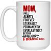 Mom I Will Always Forever Be Your Financial Burden  Mug