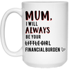 Mum I Will Always Be Your Financial Burden Mug (2)