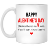 Couple gifts - G2-I'll give you the V later coffee mug - GST