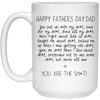 You Put Up With My Sh*T Mug - Gift For Dad