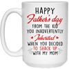 From The Kid You Inadvertently Inherited Mug - Gift For Stepdad