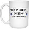 World's Greatest Farter Mug - Gift For Dad