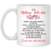 À la meilleure belle-mère mother in law mug