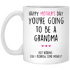 Happy Mother's Day You're Going To Be A Grandma Mug