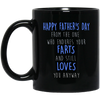 The One Who Endures Your Farts And Still Loves You Anyway Mug - Gift For Dad 2