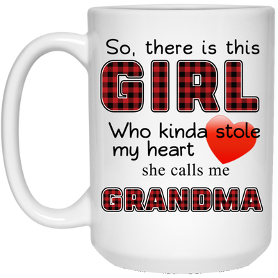 There girl boy Grandma
