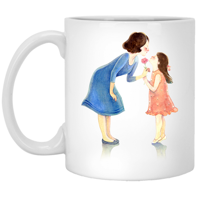 Mom And Daughter Mug