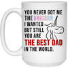 You Never Got Me The Unicorn I Wanted But Still You Are The Best Dad Mug - Gift For Dad