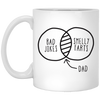 Bad Jokes - Smelly Farts Mug - Gift For Dad
