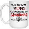 Only The Best Moms Get Promoted To Grandmas Mug