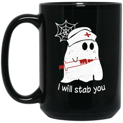 Ghost stab mug - gifts for nurse