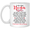 To the best nona Mug - Gifts for grandma