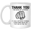 Thank You For Being My Stepdad - Gift For Stepdad