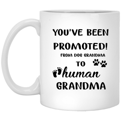 Promoted grandma mug - gifts for dog lovers