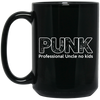 Punk Professional Uncle No Kids Mug - Gift For Uncle (2)
