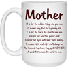 Mother A Word That Means The World To Me Mug