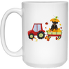 Red car mug - gifts for dog lovers