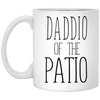 Daddio Of The Patio Mug - Gift For Dad