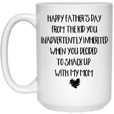From The Kid You Inherited Mug - Gift For Stepdad