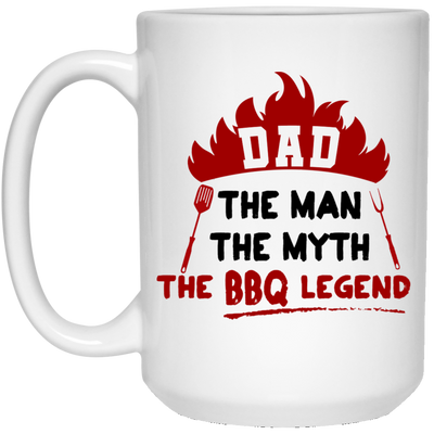 Dad The Man The Myth The Bbq Legend Mug - Gift For Dad
