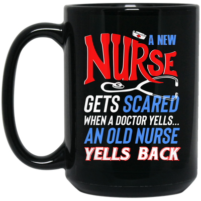 Nurse scared mug - gifts for nurse
