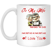To My Wife  You First Kiss Or Your First Love Mug - Gifts For Wife