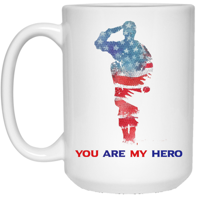 You Are My Hero Mug - Gift For Dad