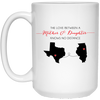 The Love Between A Mother And Daughter Know No Distance Mug
