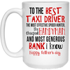To The Best Taxi Driver The Most Effective Spider Hunter Mug - Gift For Dad