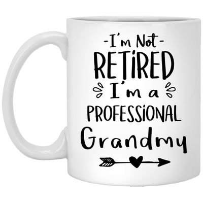 Retired grandmy  Mug - gifts for grandma