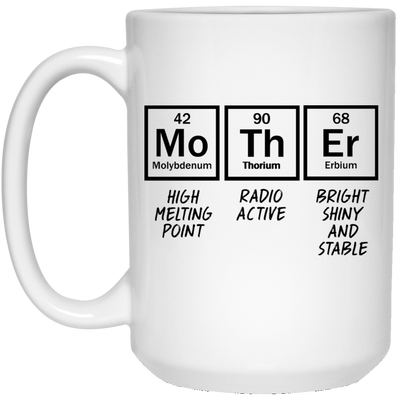 Mother High Melting Point Radio Active Mug