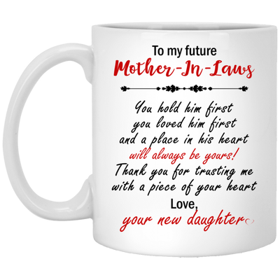 Thank you for trusting me with a piece of your heart mug