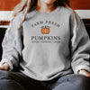 Fall Sweatshirt Women Sweater  Fall Pumpkin Patch Sweatshirt