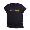 G1-girldad Girl Dad Retro T-shirt - Gst