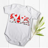 Gifts for baby - Gnome valentines valentine gifts baby bodysuit - GST