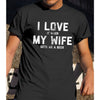 I Love My Wife Brings Me A Beer Funny Husband Shirt - Fathers Day Shirt