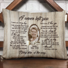 Personalized sympathy gift in loving memory of husband wife Pillow Gift Lost Of Mom Dad