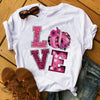 Pumpkin Love - Gift for Breast Cancer Awareness Support T-shirt