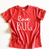 Love bug red shirt valentine gifts for kids - GST
