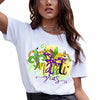 Mardi gras - Mardi gras sublimation shirt for women - GST
