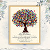 Personalized autism teacher gift thankful print GST