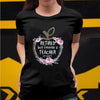 Retired but forever a teacher at heart shirt GST