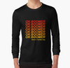 Ok Boomer Ombre Text Long Sleeve Shirt, Ok Boomber Shirt, Hot Trend