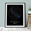 Personalized The Star Of Us Star Map Canvas Gift For Her For Him
