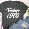 Vintage 1970 50th Birthday Shirt - Gst