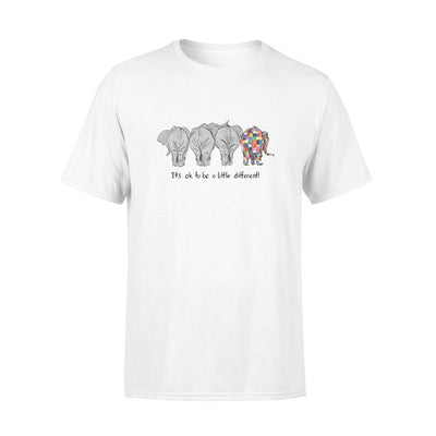 Elephant - Dif tshirt - gifts for camping lovers