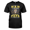 Being Papa Is Priceless Lion Shirt Gift For Grandfather